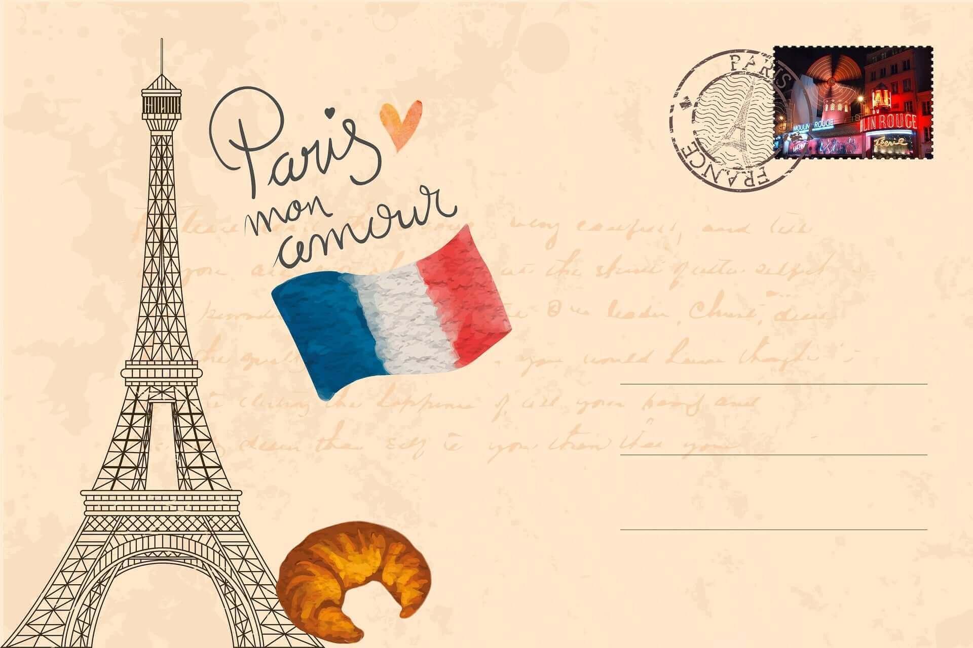 icon Postkarte für Druckprodukte Visitenkarten