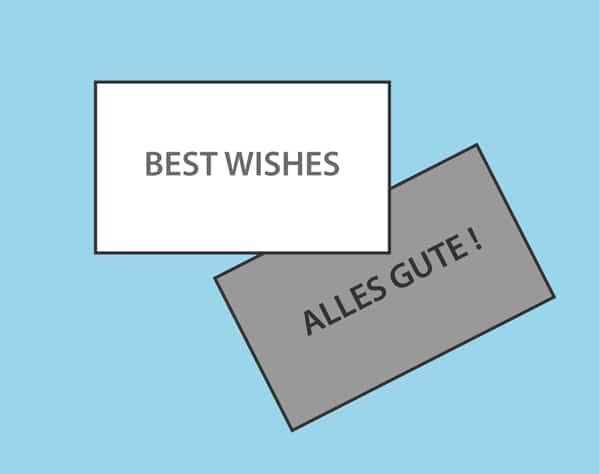 Einladungskarten und Grusskarten Visitenkarten